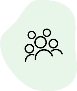 Expanding audience icon