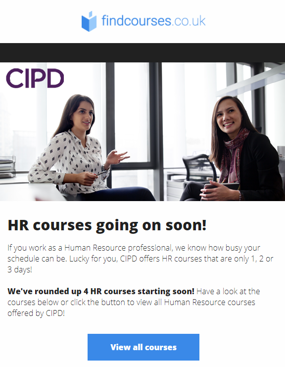 findcourses.co.uk industry-specific courses