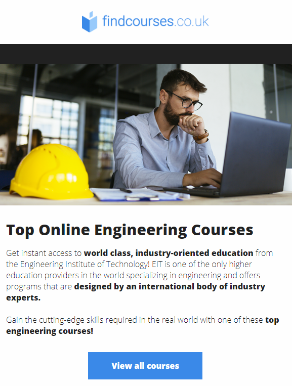 findcourses.co.uk industry-specific courses online